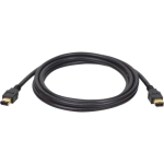 Tripp Lite IEEE 1394 Firewire Connectivity Cables (Gold) - F005-006