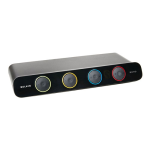 Belkin F1DS104J SOHO Desktop KVM Switch - 4 Ports