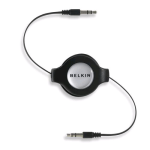 Belkin Retractable Car-Stereo Cable for Apple iPod - F3X1980-4.5-BLK