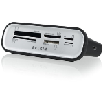 BELKIN Universal 56-in-1 Media Reader.Transfer files w/ the touch of a button.
