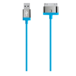 Belkin MIXIT UP 30-Pin to USB ChargeSync Cable for All Apple Devices (Blue)