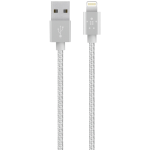 Belkin Apple Certified MIXIT Metallic Lighting to USB 4ft Cable - Silver