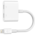 Belkin Lightning Audio + Charge RockStar for iPhone X, iPhone 8/7, iPad