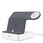 Belkin Powerhouse Charging Dock for IPhone XS, XS Max, XR, X, 8/8 Plus and More, Apple Watch Series 4, 3, 2, 1