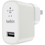 Belkin MIXIT Up Metallic 2.4A USB Home Charger in White