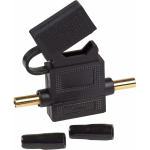 Wireless Solutions - Crimp ATC Fuseholder - Crimpable inline ATC fuseholder with cover 30 Amp
