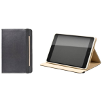 Ventev Foliocover Case for Apple iPad Mini (Black/Tan)