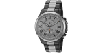 Fossil Hybrid Smartwatch - Q Grant Smoke Stainless Steel FTW1139