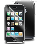 Zagg InvisibleSHIELD Screen Protector for Apple iPhone 3G (Clear, Full Body)