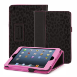 Griffin Moxy Big Cat Folio Case for Apple iPad Mini - Black/Pink