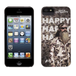 Griffin Duck Dynasty Happy Case for Apple iPhone 5/5s (Thyme-Black)