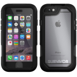 Survivor Summit Case iPhone 6s/6 Black/Clear/Bk
