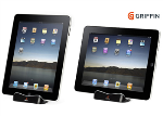 Griffin - WaveStand Viewing & Typing Stand for Apple iPad 3, iPad 2, iPad - Black