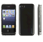 Griffin Reserve Battery Case for Apple iPhone 4/4S, 1450mAh - Black