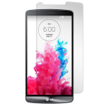 Gadget Guard Tempered Glass Screen Guard for LG G3 - Black Ice Edition