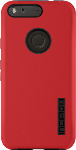 Incipio DualPro Shock-absorbing Case for Google Pixel XL - Iridescent Red / Black