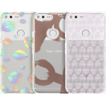 Incipio Valentine's Day 3-Pack Share the Love Gift Set Case for Google Pixel XL (Rose Gold Hearts/Kisses)