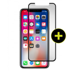Gadget Guard  Black Ice+Cornice Edition Tempered Glass for Apple iPhone X