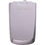 OEM Samsung M500 Standard Battery Door - Silver