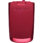 OEM Samsung M500 Battery Door, Standard size - Red