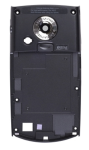 Samsung Back Housing with Silver Camera Bezel/Lens/Battery Latch for Samsung SCH-I760