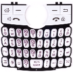 OEM Samsung i617 Blackjack Replacement Keypad - Pink