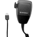 OEM Motorola Hand-held Mobile Microphone for Vehicular Adapter - Black