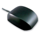 Laird Technologies - 3-5V Micro GPS Antenna with SMA Connector Installed - Black