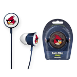 Gear4 Angry Birds Space Tweeters Earbud for Apple iPad / iPhone / iPod (Red Bird)