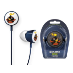 Gear4 Angry Birds Space Tweeters Earbud for Apple iPad / iPhone / iPod (Black Bird)