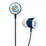 Gear4 Angry Birds Space Tweeters Earbud for Apple iPad / iPhone / iPod (Ice Bird)