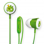 Gear4 Angry Birds Deluxe Tweeters Earbud for Apple iPad / iPhone / iPod (King Pig)