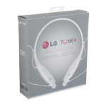 LG Bluetooth Stereo Headset (White)