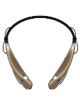 LG Mobile - LG NEW Tone Pro Bluetooth Headset in Gold