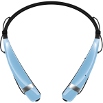 LG Mobile - LG NEW Tone Pro Bluetooth Headset in Powder Blue