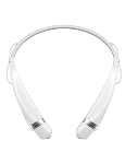 LG Mobile - LG NEW Tone Pro Bluetooth Headset in White