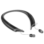 LG Rugged and Sleek Tone Active+ Wireless Stereo Bluetooth headset - Black