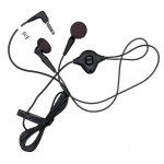 BlackBerry 3.5mm Stereo Headset - Universal Handsfree Headset (HDW-14322-005)