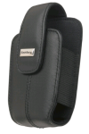RIM BlackBerry Leather Holster withSwivel Belt Clip. Black. Bulk