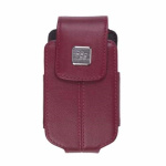 Blackberry - Leather Swivel Holster for Blackberry 8220 8230 - Merlot