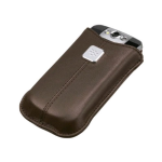 BlackBerry Leather Pocket for BlackBerry 8900 (Dark Brown)
