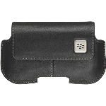 OEM Blackberry 8520 9330 9700 Black Leather Holster