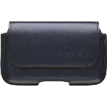 OEM BlackBerry Bold 9000 Blue Leather Horizontal Pouch