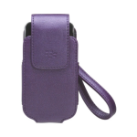 OEM Blackberry Synthetic Leather Tote Case for Blackberry 8220 - Purple
