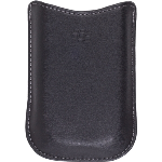 OEM Blackberry 8220 Black Synthetic Pocket Case
