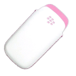 OEM BlackBerry Pearl 9100 3G Koskin Pocket Pouch - Pink/White