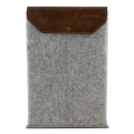 Graf & Lantz Felt Sleeve with Leather Flap for 11
