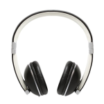 Polk Audio Hinge Headphones with 3 button remote and in-linemicrophone - Black/Silver