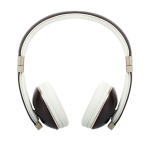Polk Hinge On Ear Headphones with Built-in 3-Button Remote/Mic - Brown