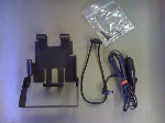 OEM Motorola HLN8251A - 3-Hour Vehicular Charger Adapter and Bracket